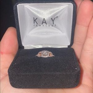Kay jewelers. Never worn it. Size 5. New condition